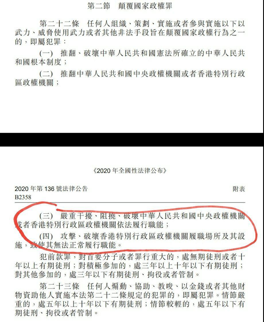 0b713d43 68da 4b84 ab6b 7681044d9ed9 一個普通香港人看國安法條文